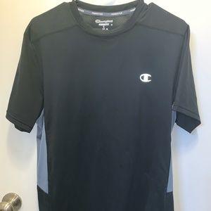 Champion Short-Sleeved Black Shirt